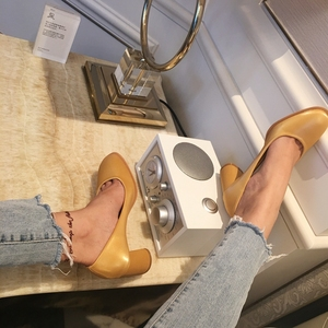 Image 3 - Green high sexy heels shoes zapatos de mujer ladies fashion shoes  pumps women shoes designer shoes women luxury