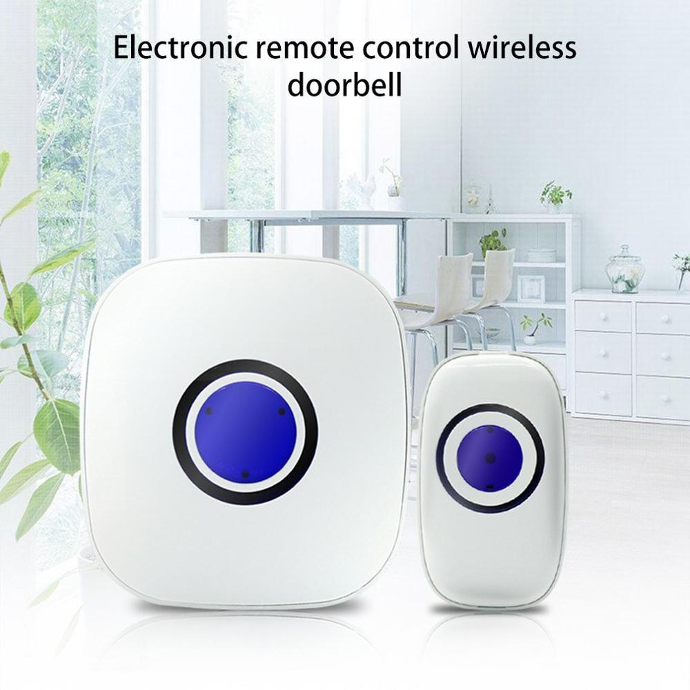Wireless Doorbell Intelligent Sensor Alarm Mall Shop Wireless Doorbell Electronic Remote Control Wireless Doorbell