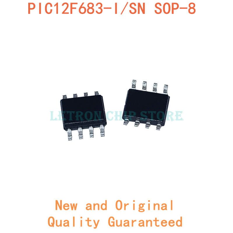 10 шт PIC12F683-I/SN SOP8 PIC12F683I/SN SOP-8 PIC12F683 SOP 12F683 SOIC8 SOIC-8 SMD новый и оригинальный IC