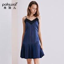 Женское Повседневное платье pokwai летнее Сексуальное Платье