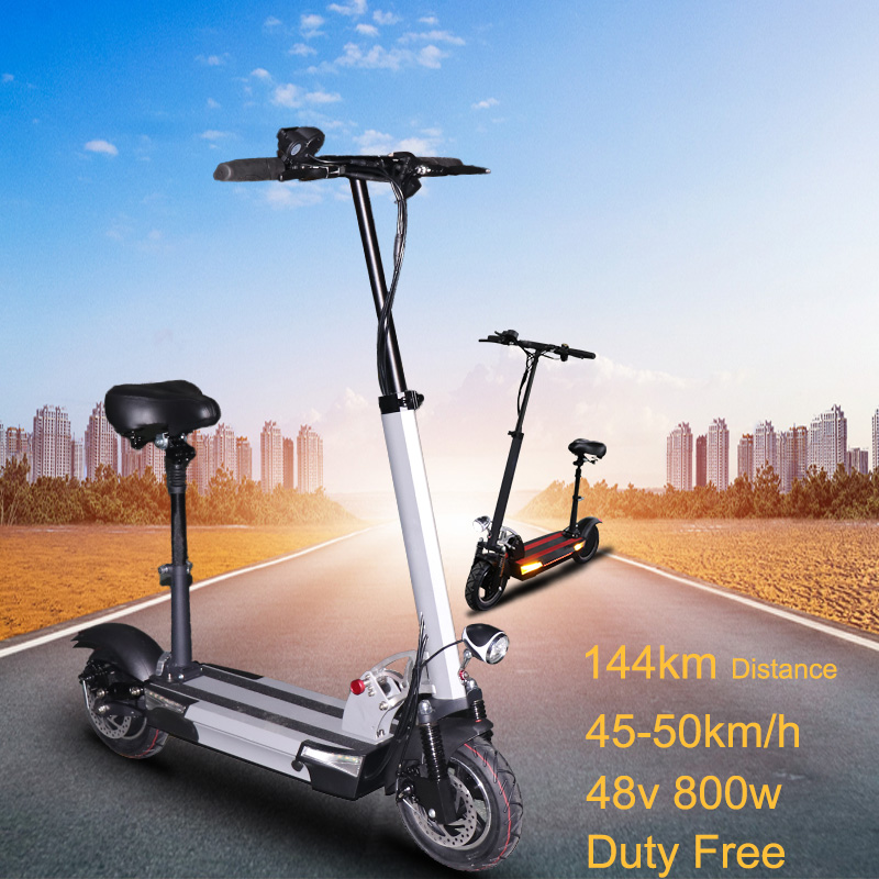 48v 800w rear motor wheel electric scooter max over 144km 48v 36a samsung battery Folding electric bicycle without seat escooter