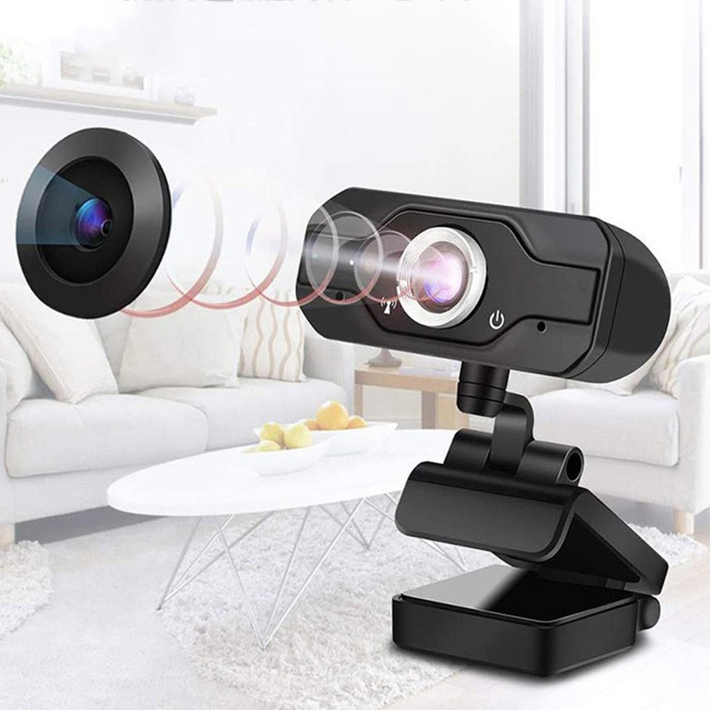 Fast Delivery HD Mini Computer Webcam Anti-peeping Rotatable Adjustable Camera For Live Broadcast Video Conference Work