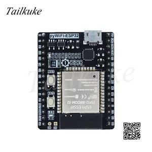 Image 2 - Pywifi   Esp32 מיקרו פיתון WiFi למידה פיתוח לוח תואם Pyboard עם כבל USB