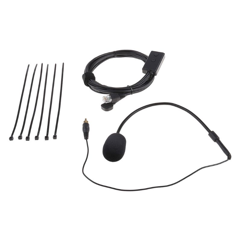 Portable Hands-free Microphone 8Pin Mic Replacement For ICOM IC2200H IC2720 IC2820 Vehicle Car Radio Devices