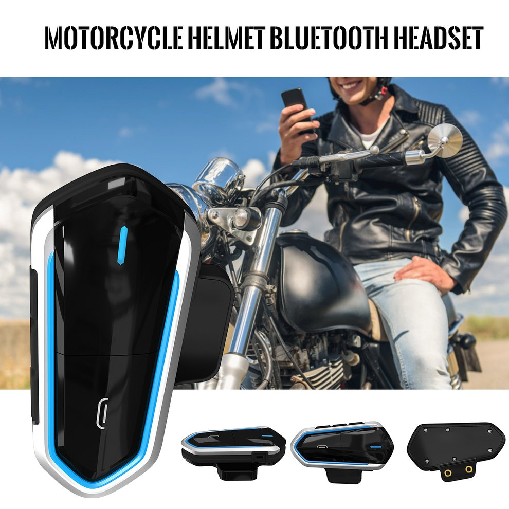 New High Quality Motorcycle Helmet Bluetooth Headset Low Power Bluetooth Headset Bluetooth 4.2