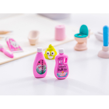 4pcs/set Creative Play Bathroom Series Rubber Set Random Kawaii Pencil Writing Drawing Student Gift