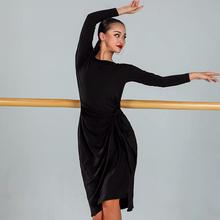Платье для латинских танцев, одежда для тренировок, профессиональное платье для взрослых, одежда для ча-румбы, латинский танец самба, костюмы DQS3272