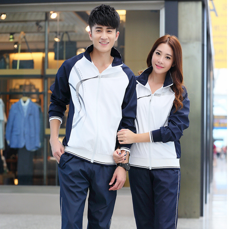 2019 New Style Spring And Autumn School Uniform Set Middle School Students Junior High School STUDENT'S High School Business Att