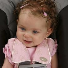 Baby Safety Stroller Cushion Car Belt Printed Shoulder Strap Sturdy Adjustable Cotton Blend Cover Pad Set Car Accessories