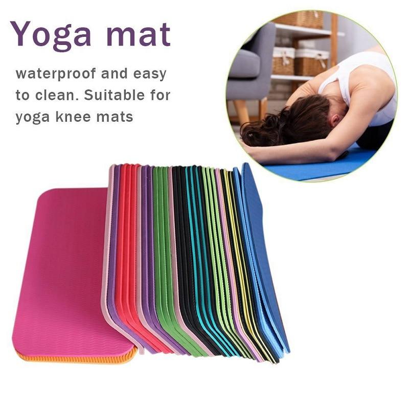 1pc Yoga Mat Knee Pad Non-slip Anti Slip Yoga Mats Elbow Knee Portable Small Plank Pilates Exercise Sports Gym Fitness Workout