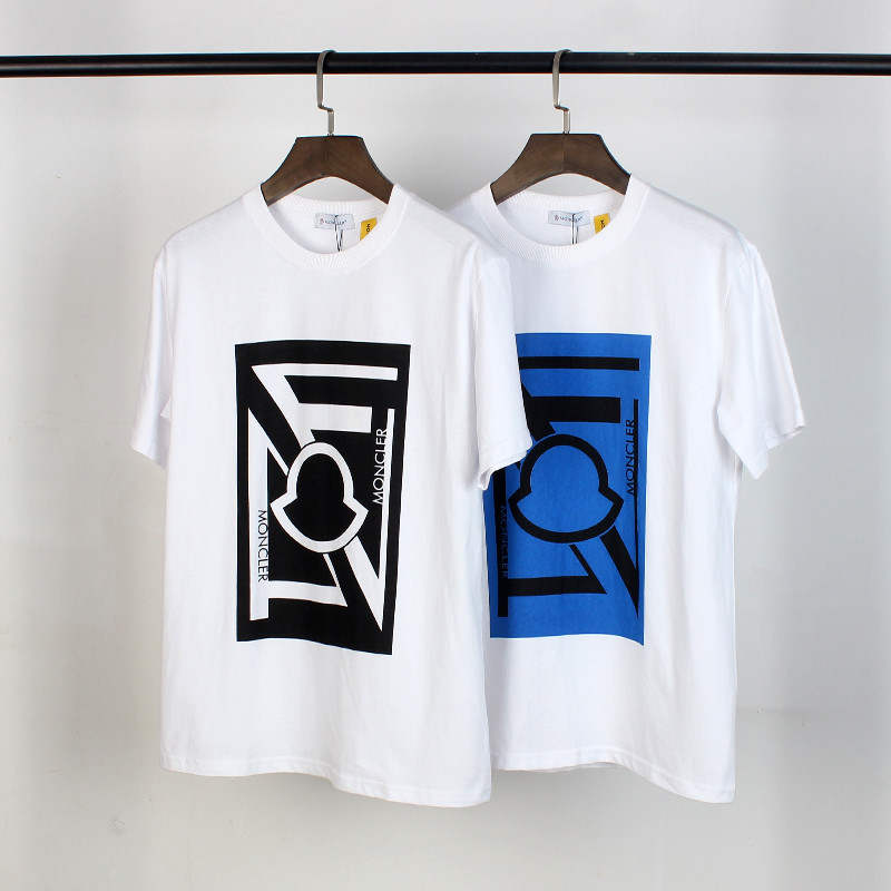 Fashion Brand T Shirts Women Mens Breathable Casual T Shirts Monc 2020 Summer Men Short Sleeve Tops Tees Fashion O-Neck Tshirts