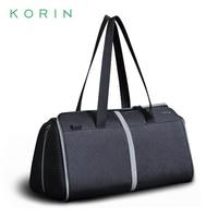 Korin FlexPack Gym Anti theft Folding Sport Bag Men Women Travel Bag Waterproof Shoulder Bag &Handbag 2020 New Girls Travel Tote