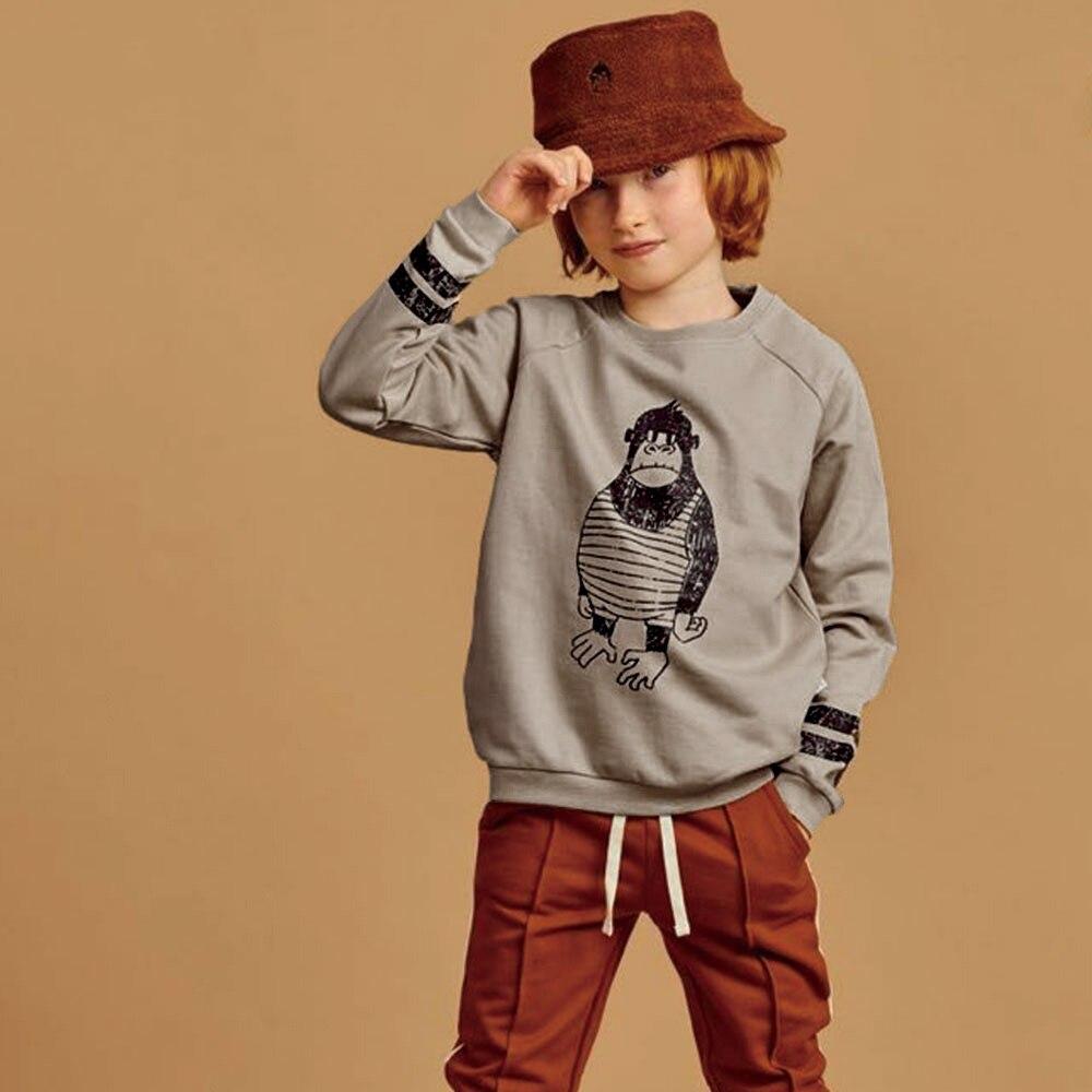 2020 Brand Kids Sweaters New Autumn Boys Girls Fashion Print Sweatshirts Hoodies Baby Children T-shirt Cotton Outwear Clothes 1