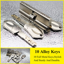 Door-Lock Keys Brass Security 70 60mm 65 80-90 10pcs Lengthened-Core Key-C AB Class-Anti-Theft-Entrance