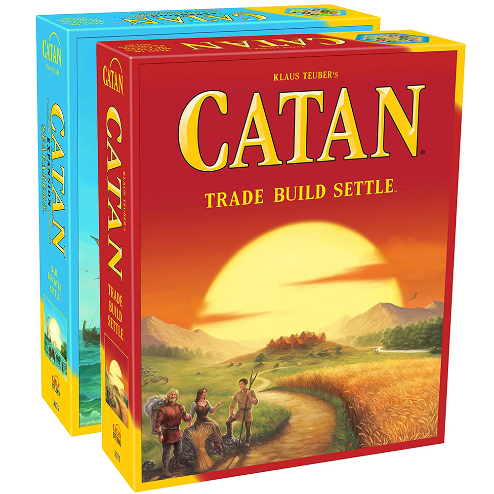 Catan Board Game Extension 5-6 Player Seafarers Card Games