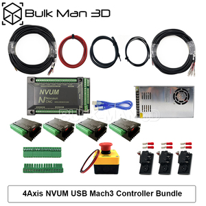 Image 5 - 4 עופרת ציר CNC נתב מכונת ערכת + Mach3 GRBL USB בקר צרור + שרשרת צרור + 4pcs Nema23 מנועים צעד
