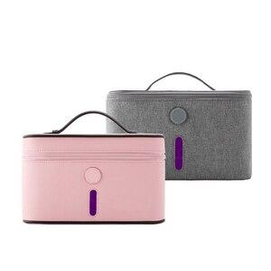 Led Baby sterylizacja torba 13 lampa UVC głębokie UV pojemnik do dezynfekcji UVC dezynfekcja torba Sanitizer zabija 99.9% zarazków