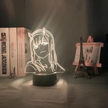 3d светодиодный ночник аниме hunter x для детей Украшения в