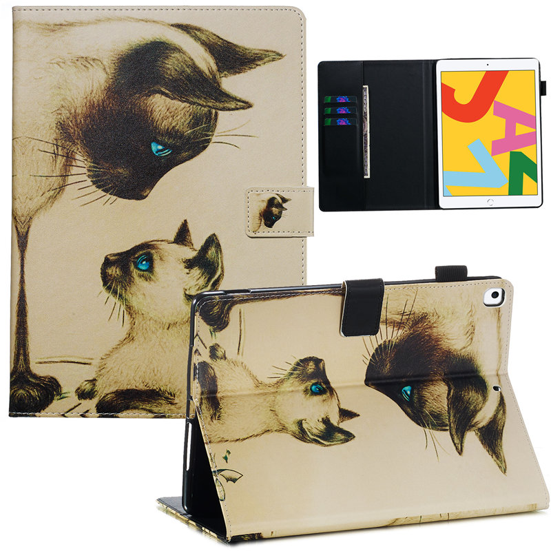 iPad 10.2 2019 Case Apple Generation iPad Cover Funda For Smart 7th Skin A2232 A2200 for