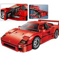 1157pcs Legoinglys Technic Series F40 Sports Car Building Blocks Set Bricks Compatible 21004 10248 Educational Toys For Kids Gif