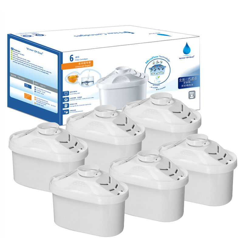Universal Water Filters Cartridge For Brita Maxtra Limescale Chlorine Impurities Purify Kettle Activate Carbon Water Filter