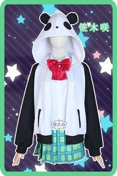 NIJISANJI Gamers Sasaki Virtual Idol Uniforms Cosplay Costume Free Shipping F 5