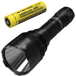Image 1 - NITECORE NEWP30 1000LM Long range Tactical Flashlight with 18650 Battery Outdoor Hunting Waterproof Portable Torch Free Shipping