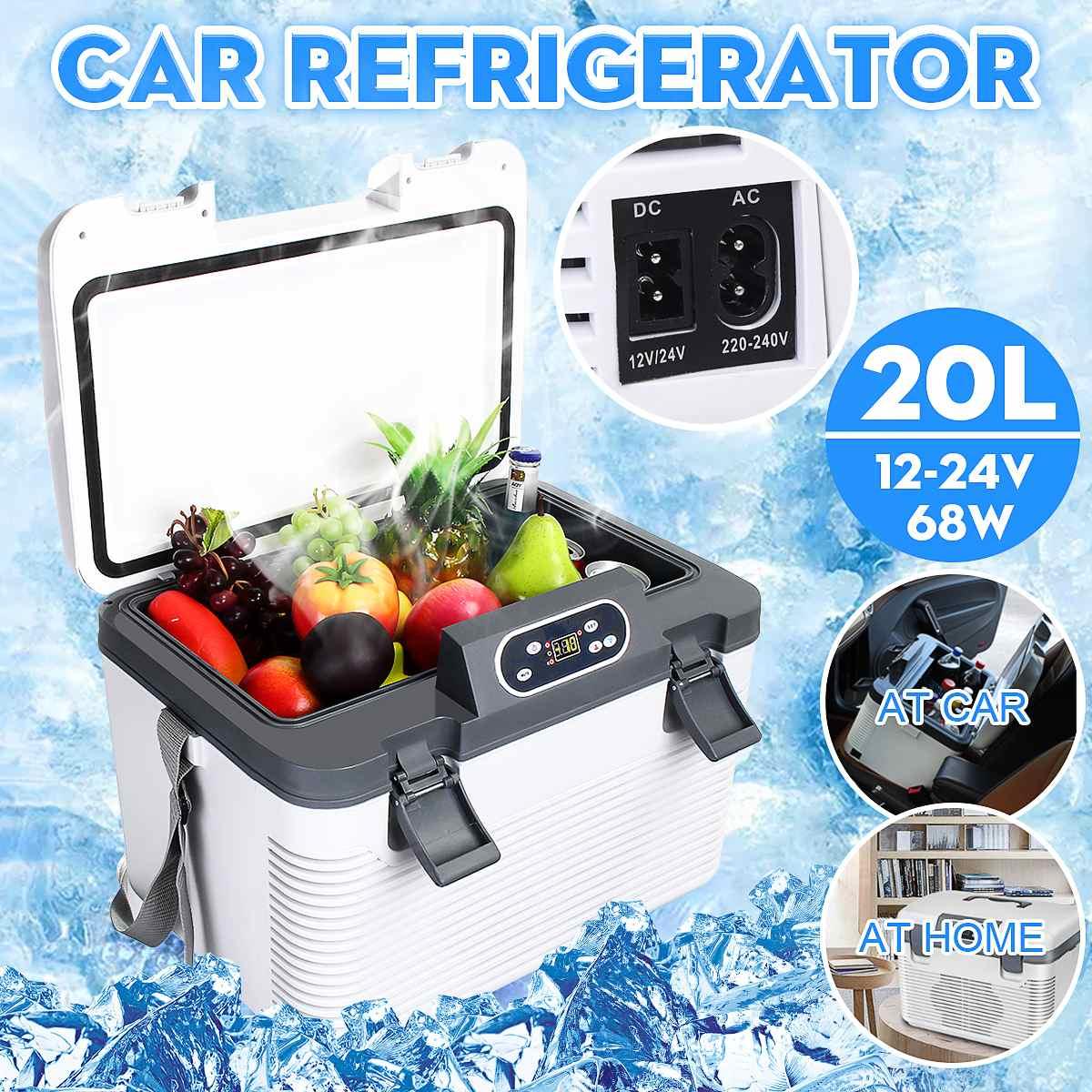 Compresseur de réfrigérateur pour voiture, 20l,-5 ~ 65 degrés, pour maison, pique-nique