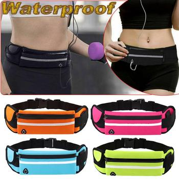 Outdoor Sports Pockets Anti-theft Mobile Phone Running Belt Waterproof Men And Women Tactical Invisible Running Bags #ND