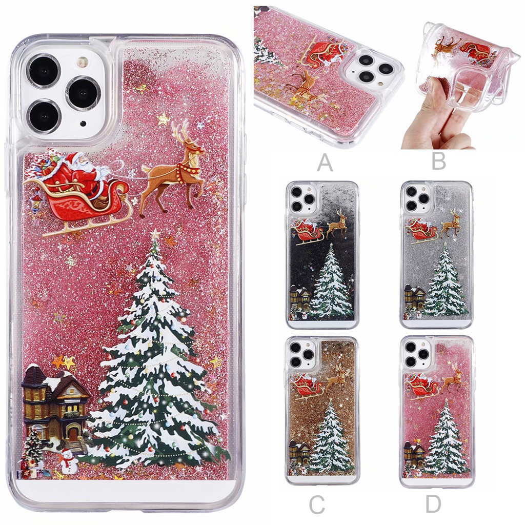 Christmas Case Soft Slim Ultra Phone Back Case Cover For Iphone 11 Pro 5.8 Inch Mobile Phone Cases Phone Protector (US STOCK)