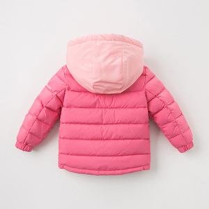 Image 4 - DB12011 dave bella winter baby down coat girls boys solid hooded outerwear children 90% white duck down padded kids jacket