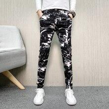 Pantalones, мужские теплые брюки, модные мужские брюки, осень,, повседневные брюки с принтом, мужские облегающие брюки, мужские штаны для бега, черные