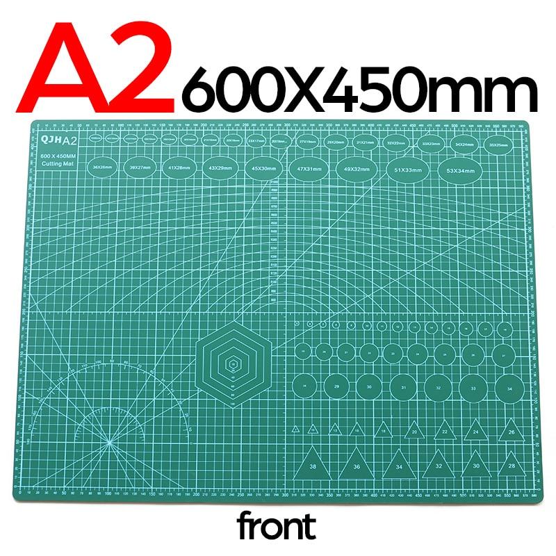 tappetino taglio pvc A1 A2 A3 A4 carta cuoio tessuto