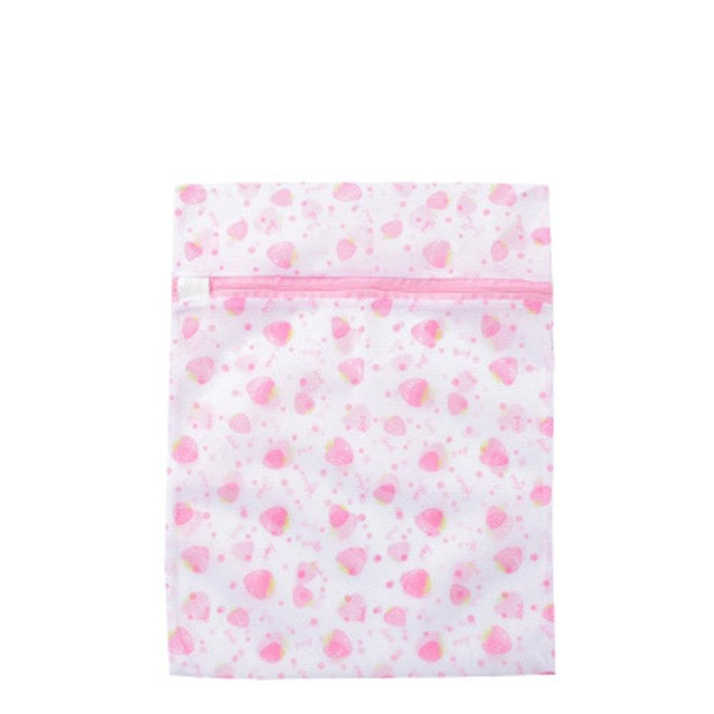 Wash Bag Laundry Mesh Net Lingerie Underwear Bra Socks Printed Washing Bag