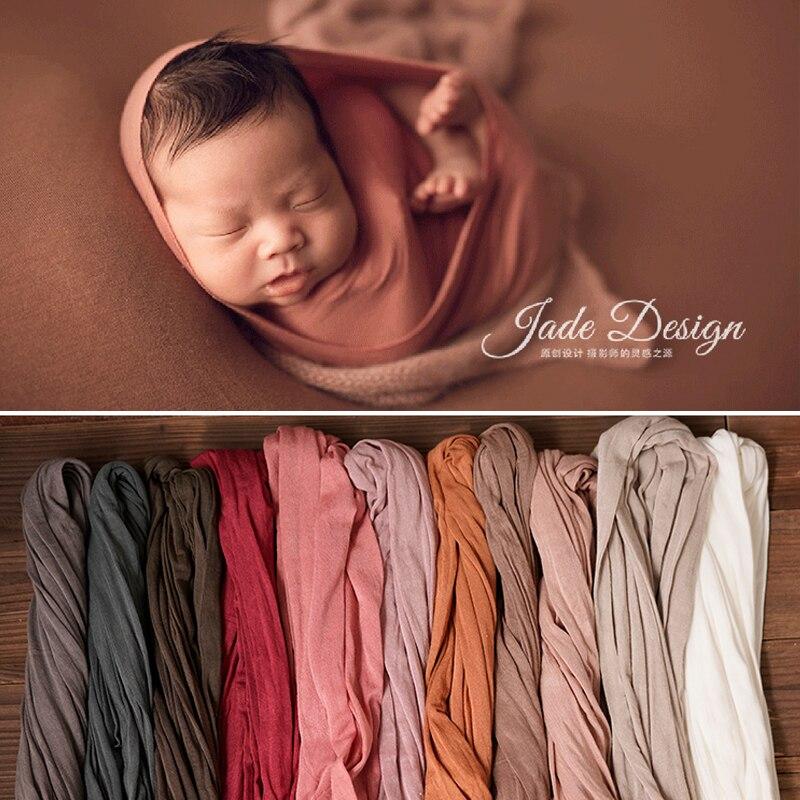 2020 neugeborenen Photograpy Requisiten Hintergrund Stretch Weiche Wraps Bebe fotografia requisiten fotografie für Studio Foto Schießen Hintergrund
