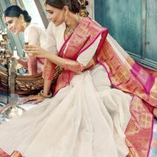 Traditional India Sarees Woman Beautiful Printing Ethnic Daily Dance Saree