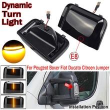 For Peugeot Boxer For Citroen Jumper RELAY For RAM PROMASTER For Fiat Ducato Truck Car LED Dynamic Turn Signal Mirror Light