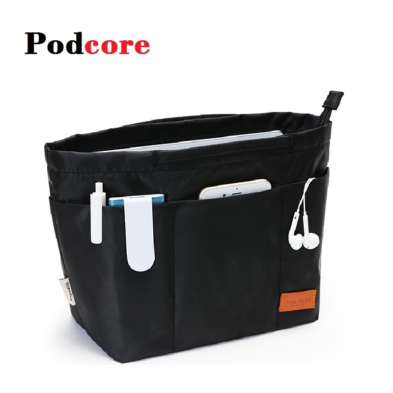 Purse Insert Bag Black Shaper Bags Organizer Purse Handbag High Quality Organizer Bag In Bag For Handbag