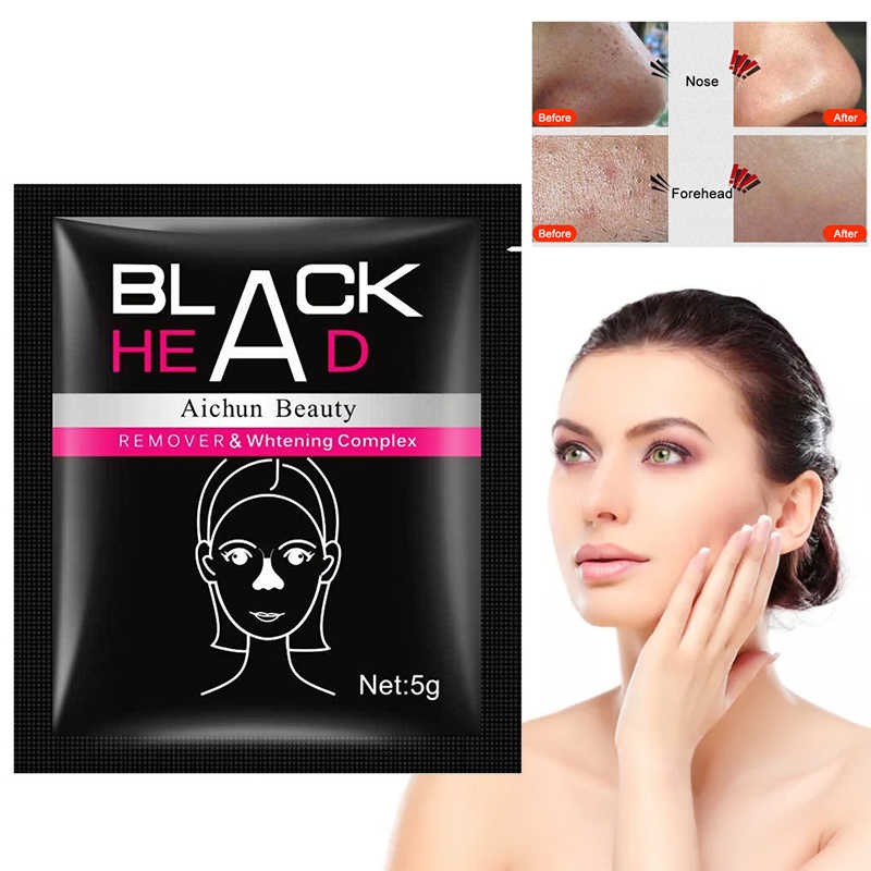 Comedondrukker Gezichtsmasker Afpellen Maskers Zuiverende Houtskool Black Mud Facial Beaut Neus Reparatie Diepe Reiniging Huidverzorging TSLM2