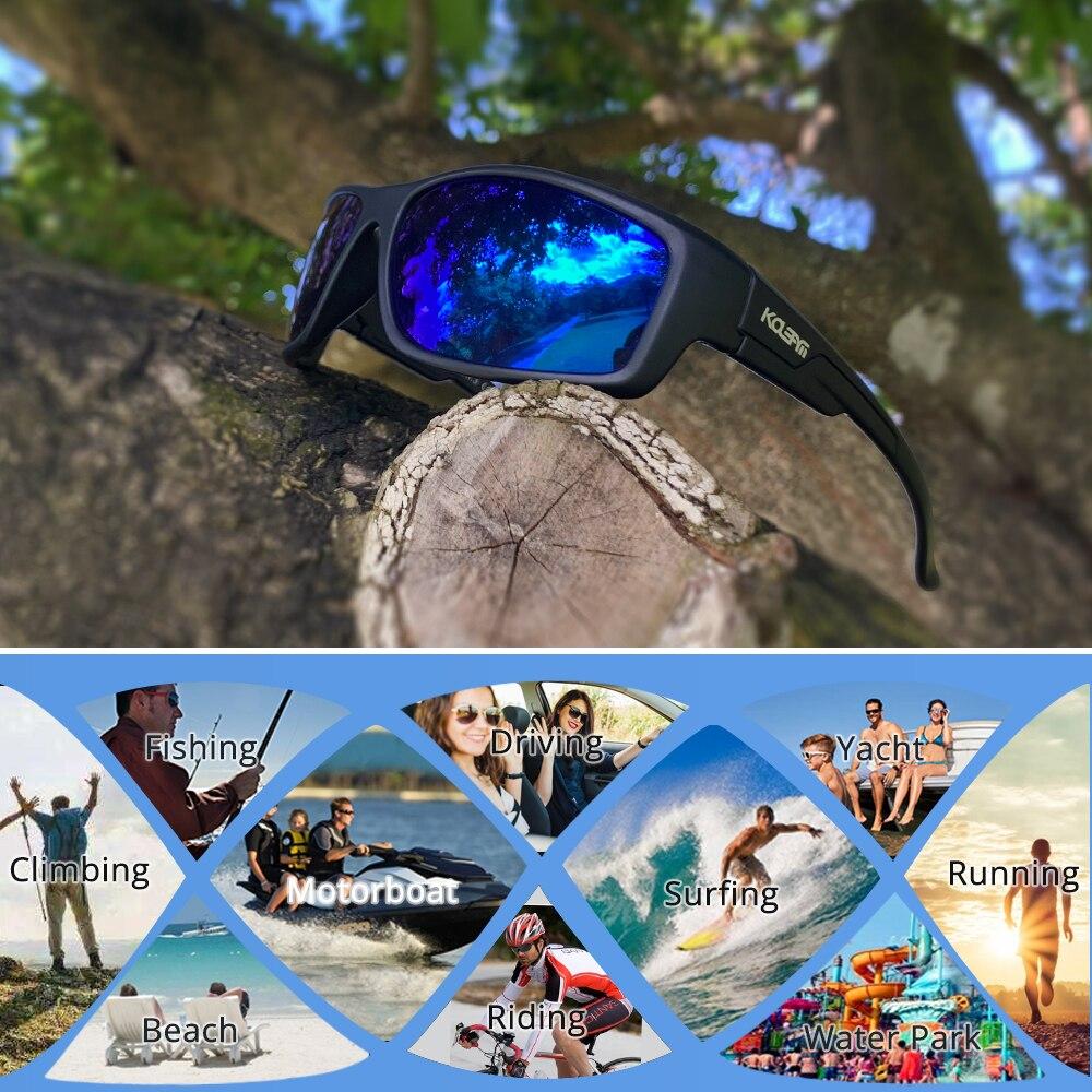 KDEAM LUXURY Floating Sunglasses Polarized men Eyewear Blue mirrored lens wrap-style shades Women UV400 protection KD7078