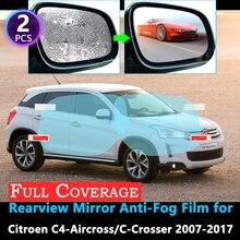 Full Cover Protective Film for Citroen C4 Aircross C-Crosser C Crosser 2007~2017 Car Rearview Mirror Rainproof Anti-Fog film