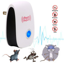 Ultrasonic Pest Repeller Mosquito Mouse Rat Multi-function Rodent Electronic Insect Repellent Mini Insect Killer Rode EU US Plug