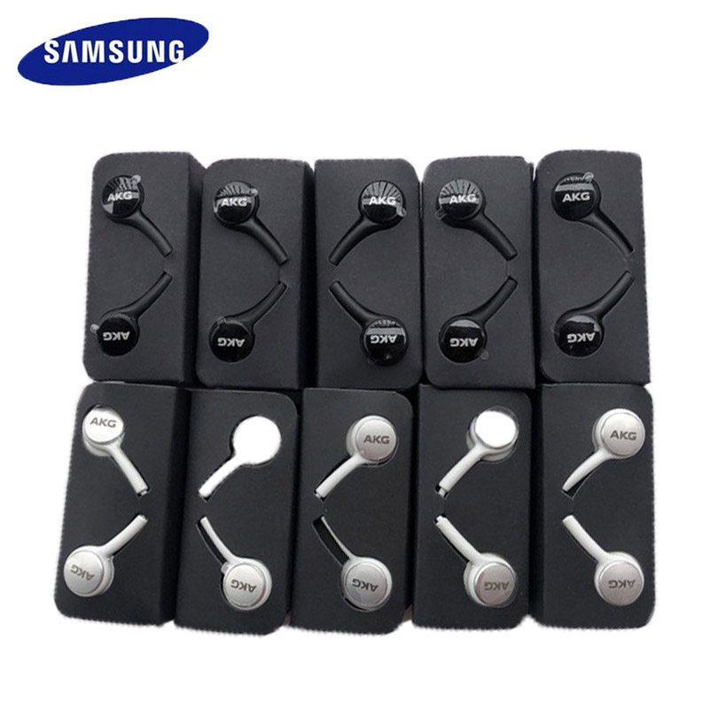 20 шт., оптовая продажа, наушники Samsung EO IG955, наушники-вкладыши с микрофоном, проводная гарнитура akg для смартфона SAMSUNG Galaxy s6 s7 s8 s9 S10