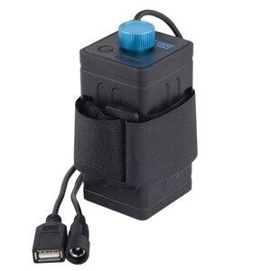 Image 1 - 8.4V wodoodporny USB 4x 18650 pudełko na baterie Box na rower LED Smart Phone