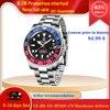 PAGANI DESIGN Sapphire Glass 40MM Ceramic GMT Mechanical Watches 100m Waterproof Classic Fashion Luxury Automatic Watch 1