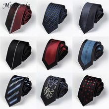 High Quality Location Necktie Men Tie 6cm Skinny Ti