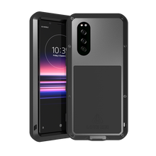 For Sony Xperia 5 Powerful Metal Armor Shock Dirt Proof Water Phone Cases for Sony Xperia 5 Waterproof Case Sony 5 сотовый телефон sony j9210 xperia 5 blue