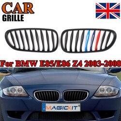 MagicKit 2x matowy czarny M kolor Grill Grille sportowy dla BMW Z4 E85 E86 03-08 wymiana