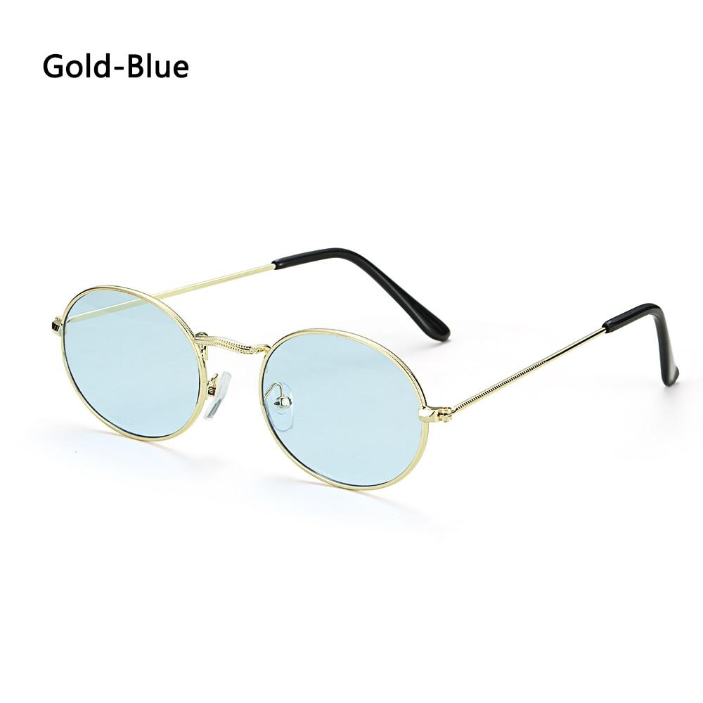 Fashion Vintage Shades Sun Glasses Elegant okulary Retro Small Oval Sunglasses for Men Women Eyeglasses gafas oculos 27