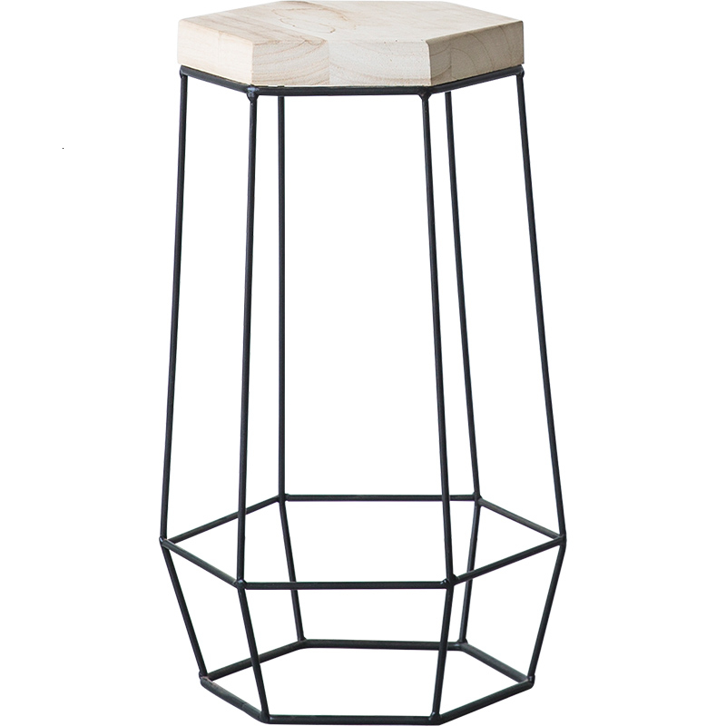 Europe Green Luo Flower Airs Multi-storey Room Introspection Space Iron Art Flowerpot Frame Balcony A Living Room Solid Wood